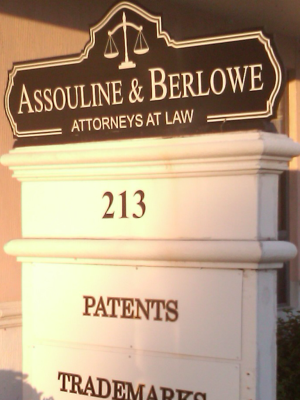 Business Law Firm Florida Patent Infringement Defense