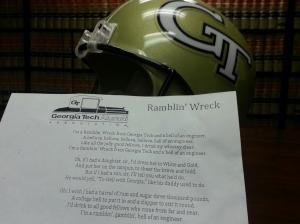 Georgia Tech Football Helmet - Patent Attorney Engineer