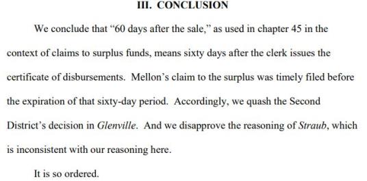 foreclosure surplus