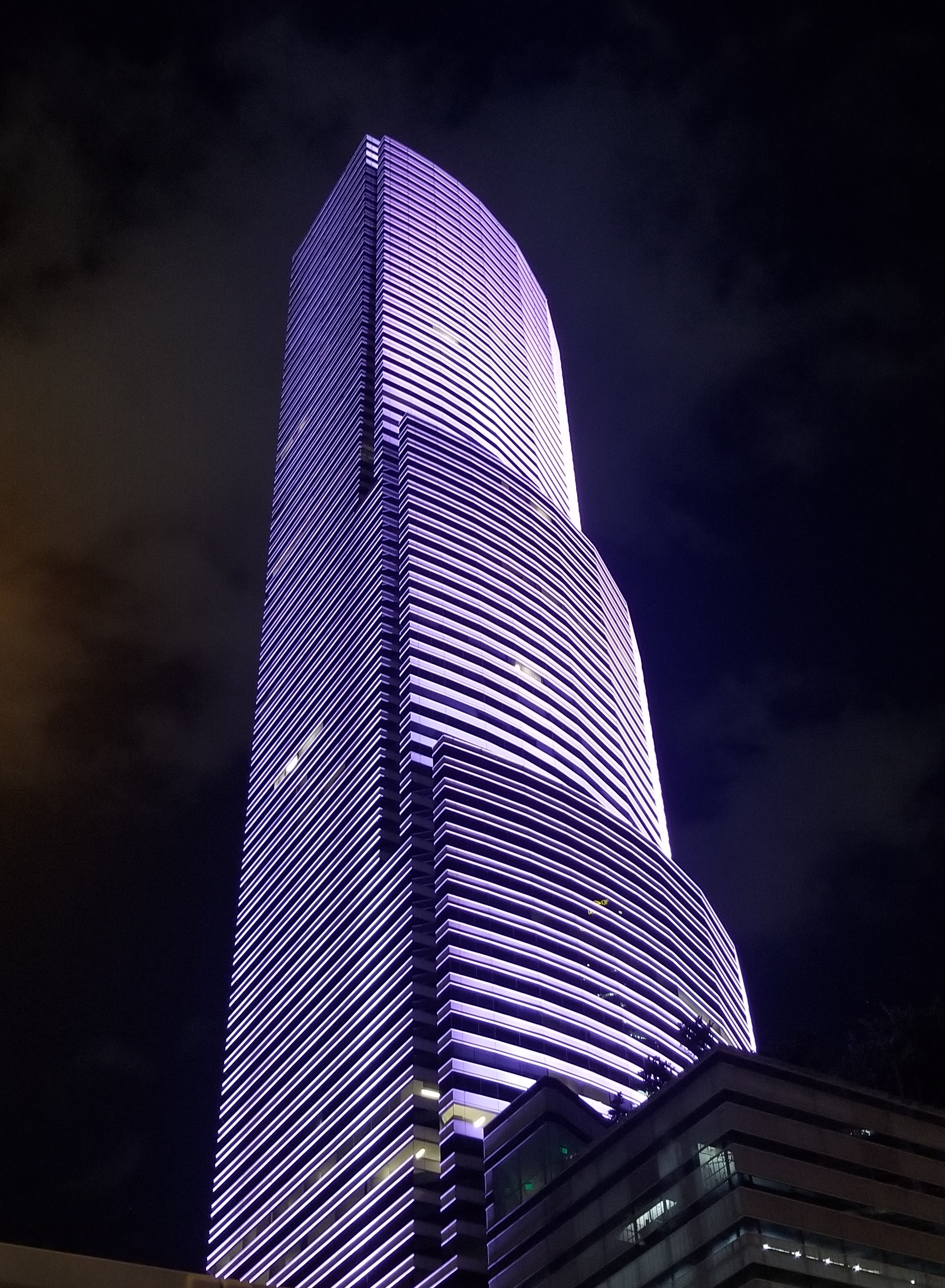 Miami Tower in Purple - Assouline Berlowe (00263295xA4579)