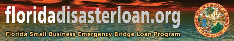 Florida disaster loan program with Florida Seal (00286185xA4579)
